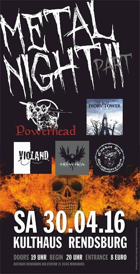METAL NIGHT Part II Rendsburg